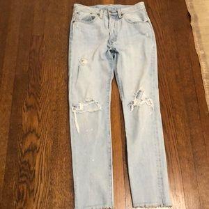 501's skinny Levi jeans